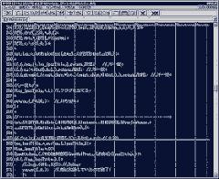 Source Code (ver. 0.27) on Hidemaru Editor