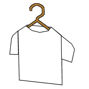 ハンガーとTシャツと私