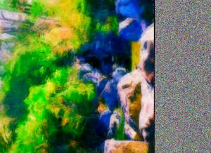 人工の泉 (?) と言うか池なんですけどね… (^^;;
