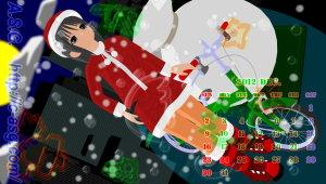 2012年 12月 カレンダー/PS Vita