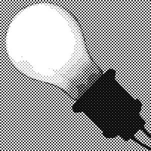 白熱電球 (ハーフトーン)