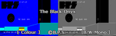 The Black Onyx (PC-8801 Disk)